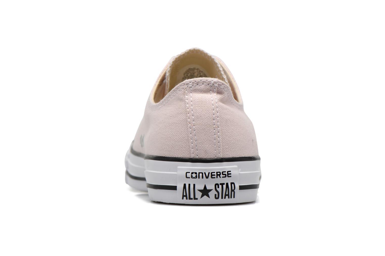 Baskets Converse Chuck Taylor All Star Ox W Rose vue droite