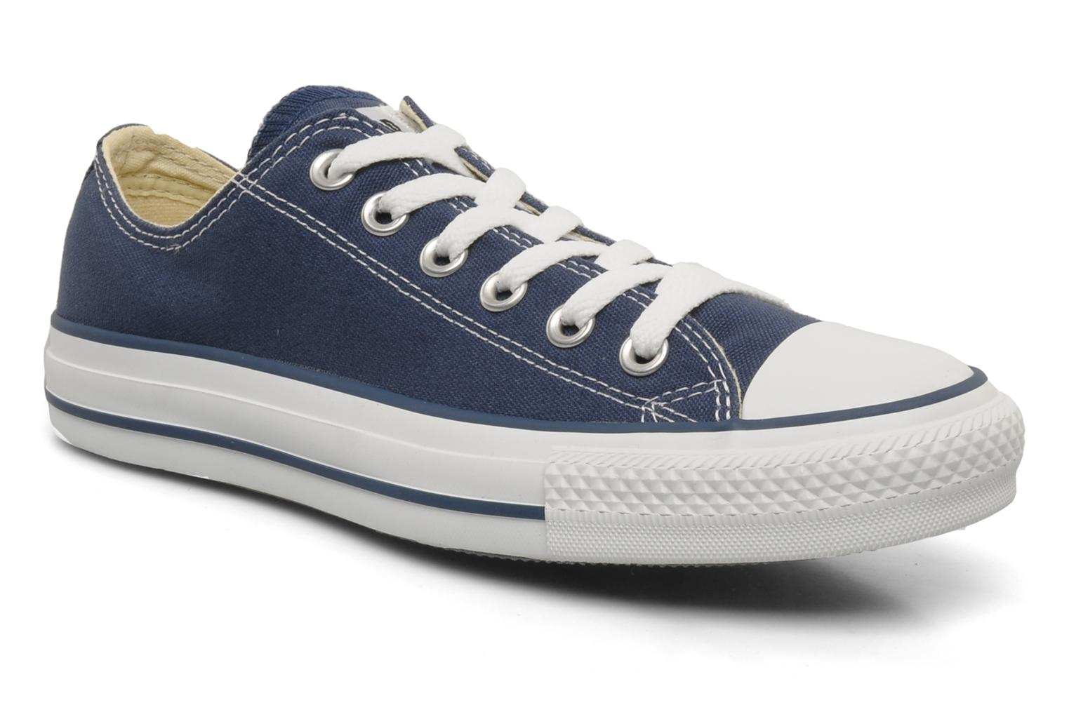 Baskets Converse Chuck Taylor All Star Ox W Bleu vue détail/paire