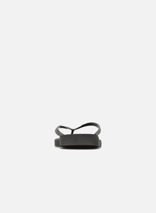 Flip flops Havaianas Top Femme Black view from the right