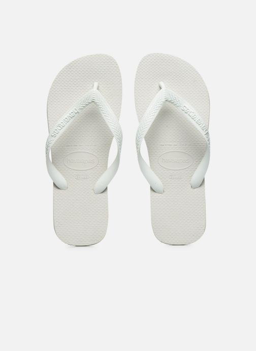 Tongs Havaianas Top F Blanc vue portées chaussures