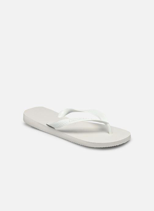 Zehensandalen Havaianas Top Femme weiß schuhe getragen