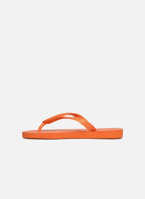 Tongs Havaianas Top F Orange vue face