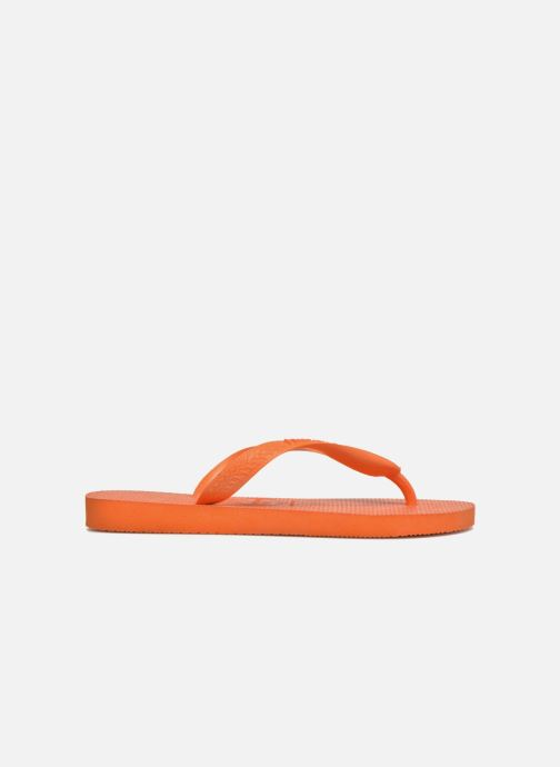 Tongs Havaianas Top F Orange vue derrière