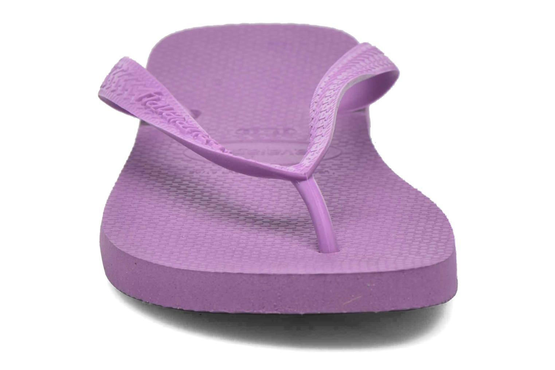 Tongs Havaianas Top F Violet vue portées chaussures