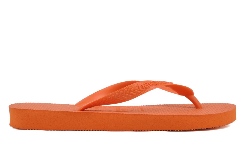 Tongs Havaianas Top F Orange vue derrière