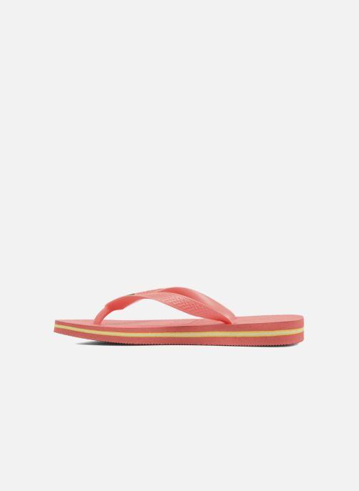Slippers Havaianas Brazil Femme Oranje voorkant