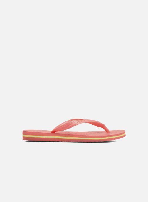 Slippers Havaianas Brazil Femme Oranje achterkant