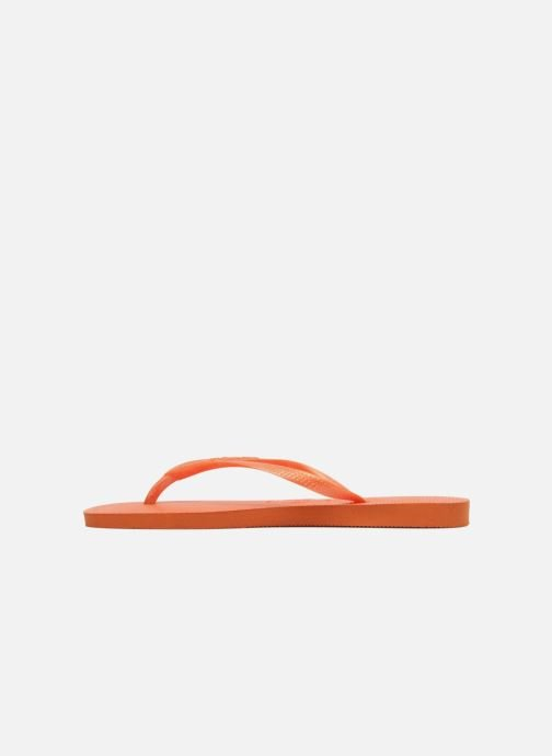 Tongs Havaianas Slim Metallic F Orange vue face