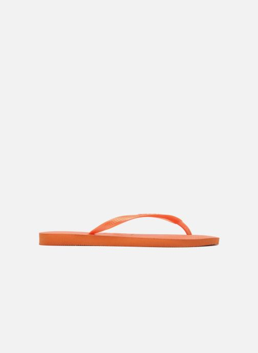 Tongs Havaianas Slim Metallic F Orange vue derrière