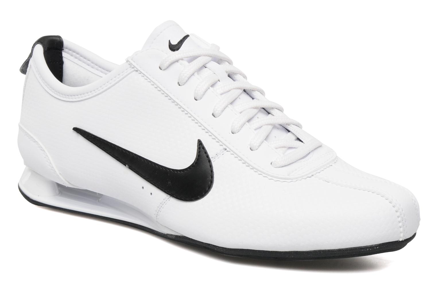 best website edbb5 d6ac4 ... greece baskets nike nike shox rivalry blanc vue détail paire 70b35 78e76