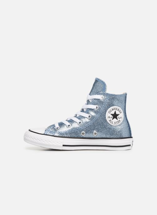 Baskets Converse Chuck Taylor All Star Hi K Argent vue face