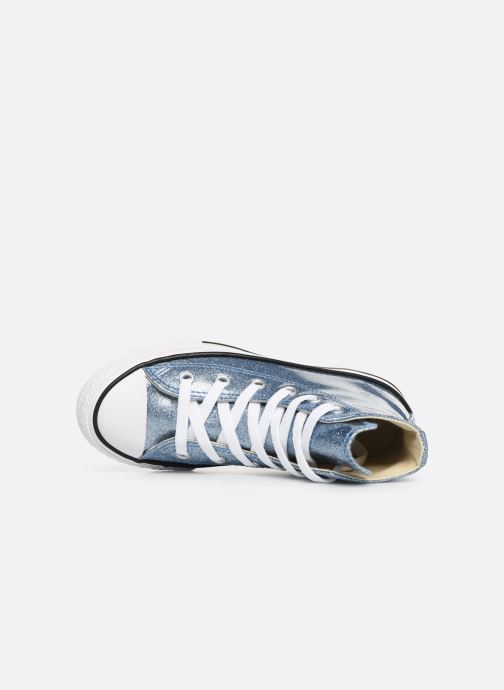 Sneakers Converse Chuck Taylor All Star Hi K Argento immagine sinistra