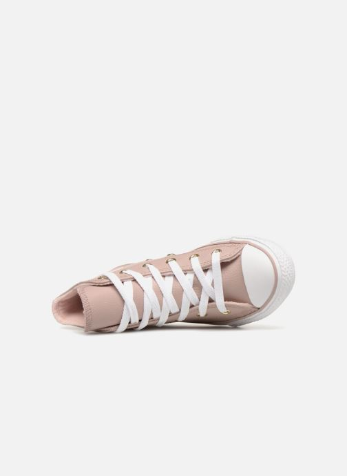 Sneakers Converse Chuck Taylor All Star Hi K Beige immagine sinistra