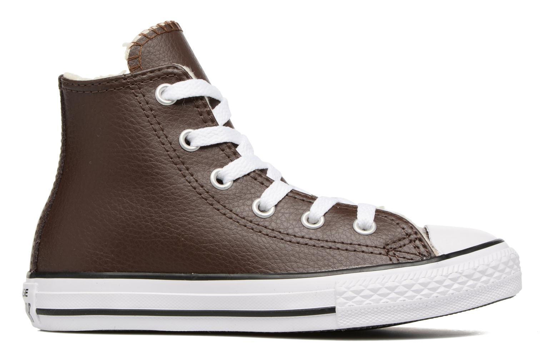 Sneaker Converse Chuck Taylor All Star Hi K braun ansicht von hinten