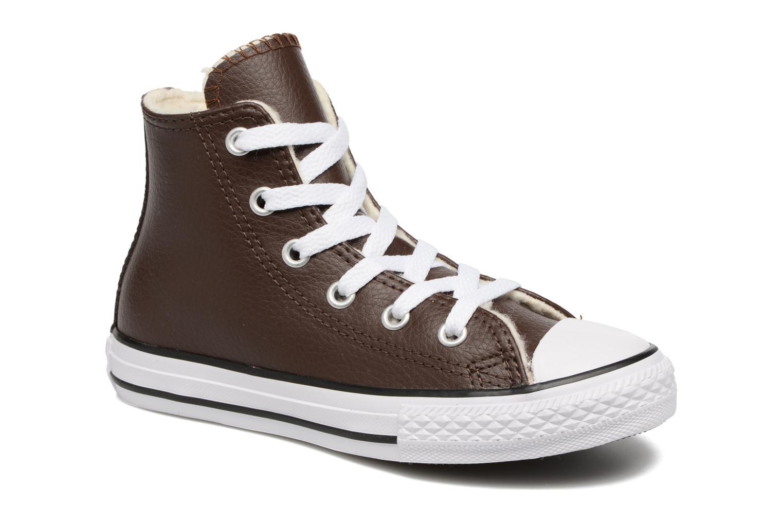 Sneaker Converse Chuck Taylor All Star Hi K braun detaillierte ansicht/modell