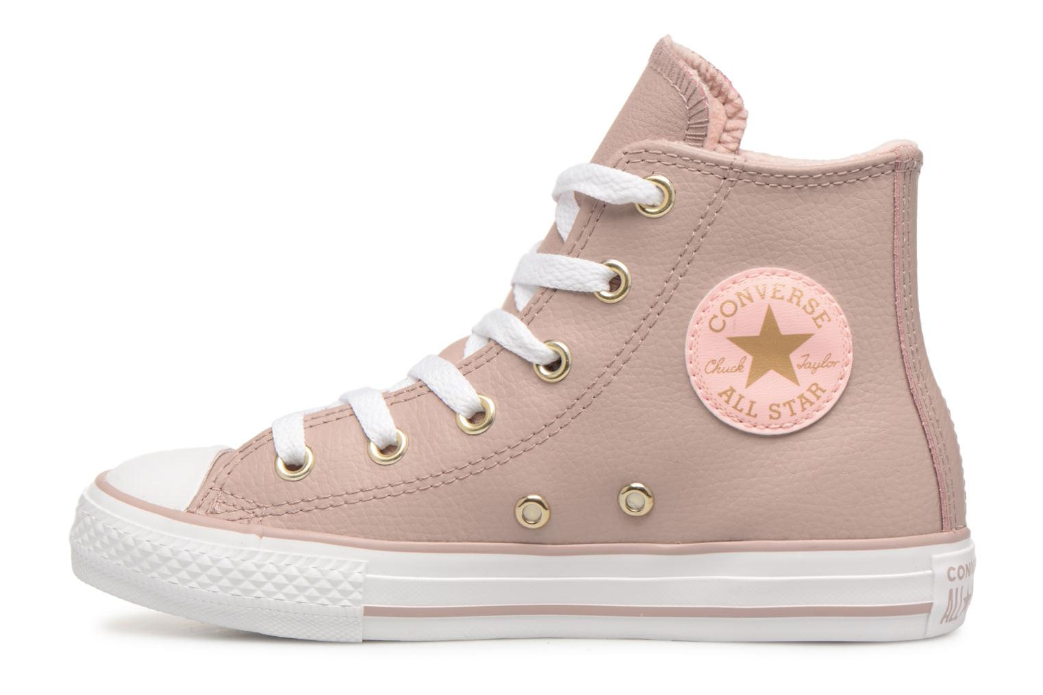 Sneakers Converse Chuck Taylor All Star Hi K Beige immagine frontale