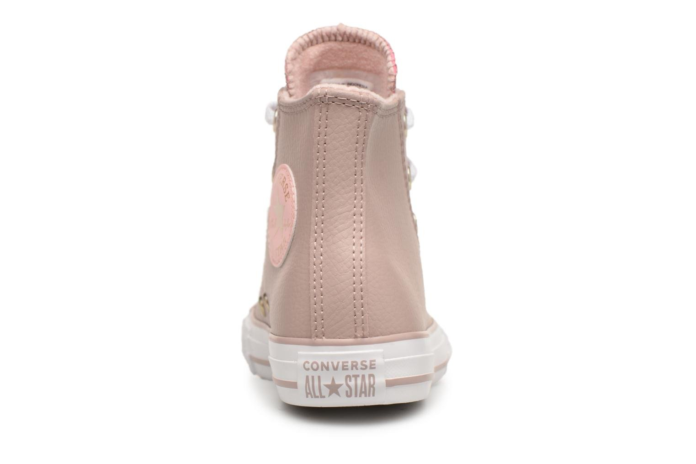 Sneakers Converse Chuck Taylor All Star Hi K Beige immagine destra