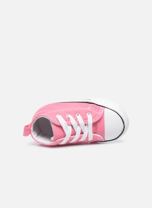 Trainers Converse First Star B Pink view from the left