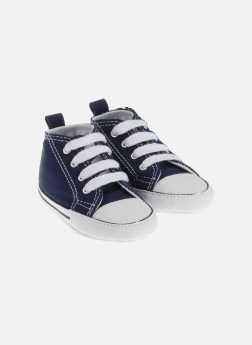 Sneaker Converse First Star Cvs weiß ansicht von unten / tasche getragen