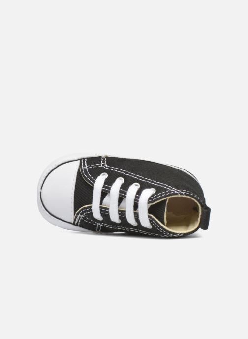 Trainers Converse First Star B Black view from the left