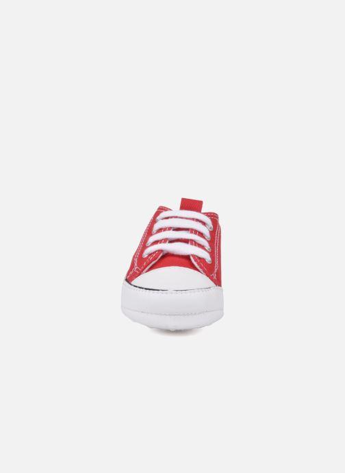 Sneaker Converse First Star Cvs rot schuhe getragen