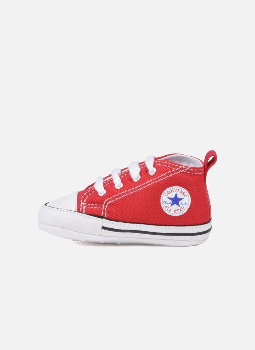 Baskets Converse First Star Cvs Rouge vue face