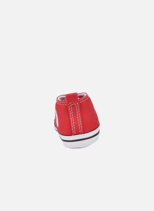 Sneakers Converse First Star Cvs Röd Bild från höger sidan