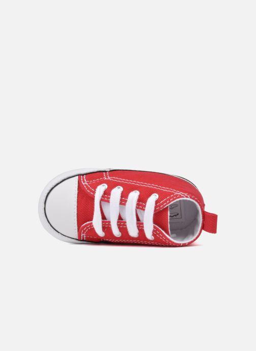 Sneakers Converse First Star Cvs Röd bild från vänster sidan