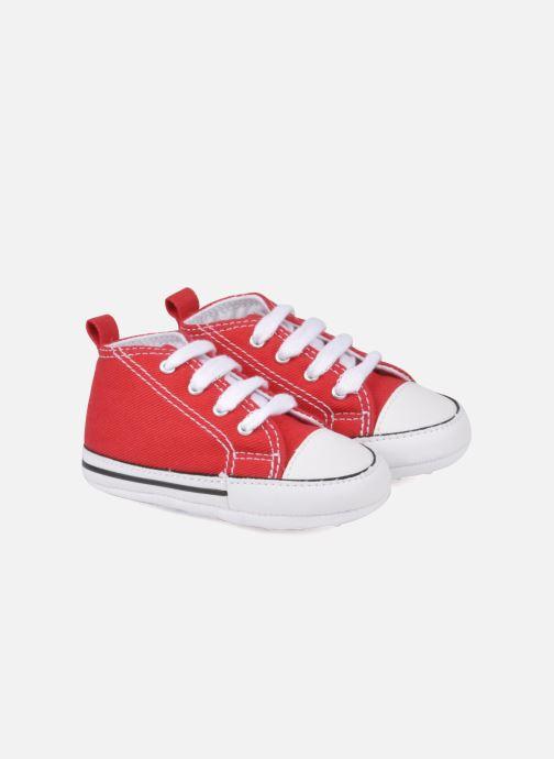 Sneakers Converse First Star Cvs Röd detaljerad bild på paret