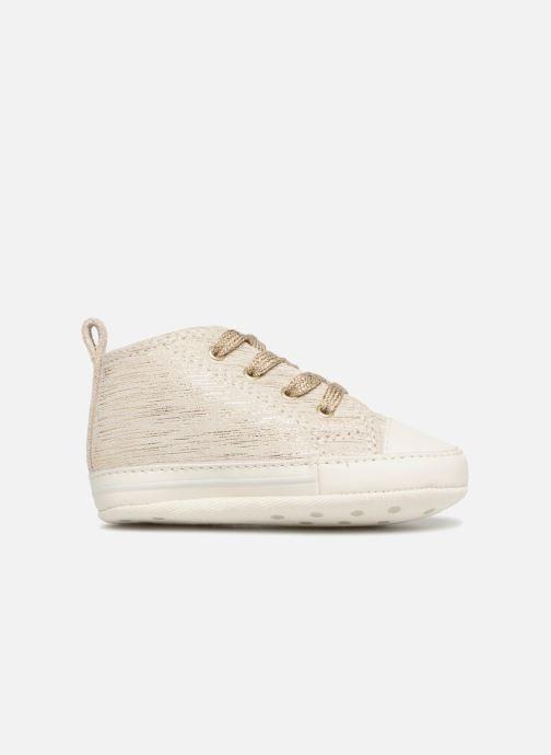 Sneaker Converse First Star Cvs gold/bronze ansicht von hinten