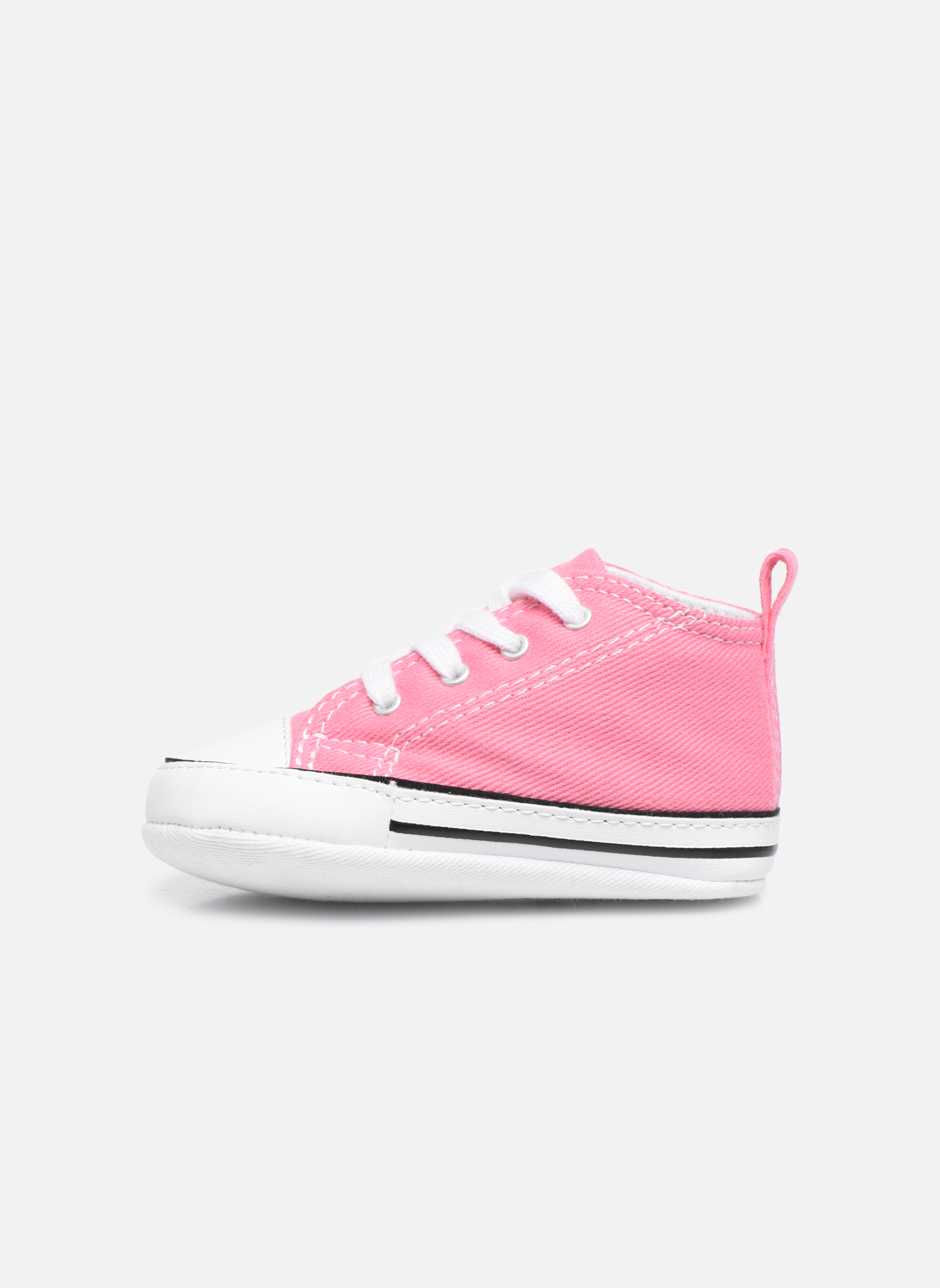 Baskets Converse First Star Cvs Rose vue face