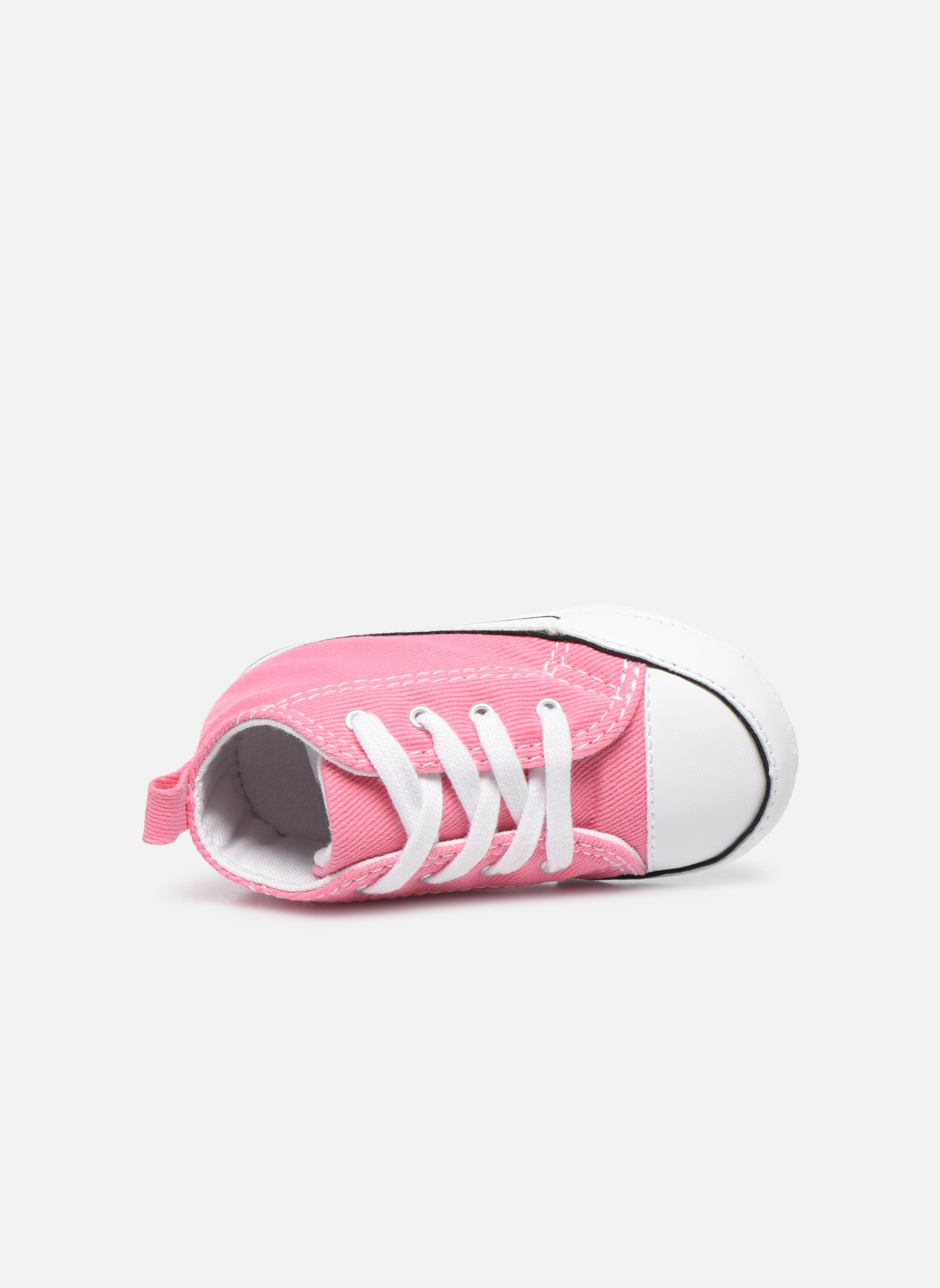Sneaker Converse First Star Cvs rosa ansicht von links