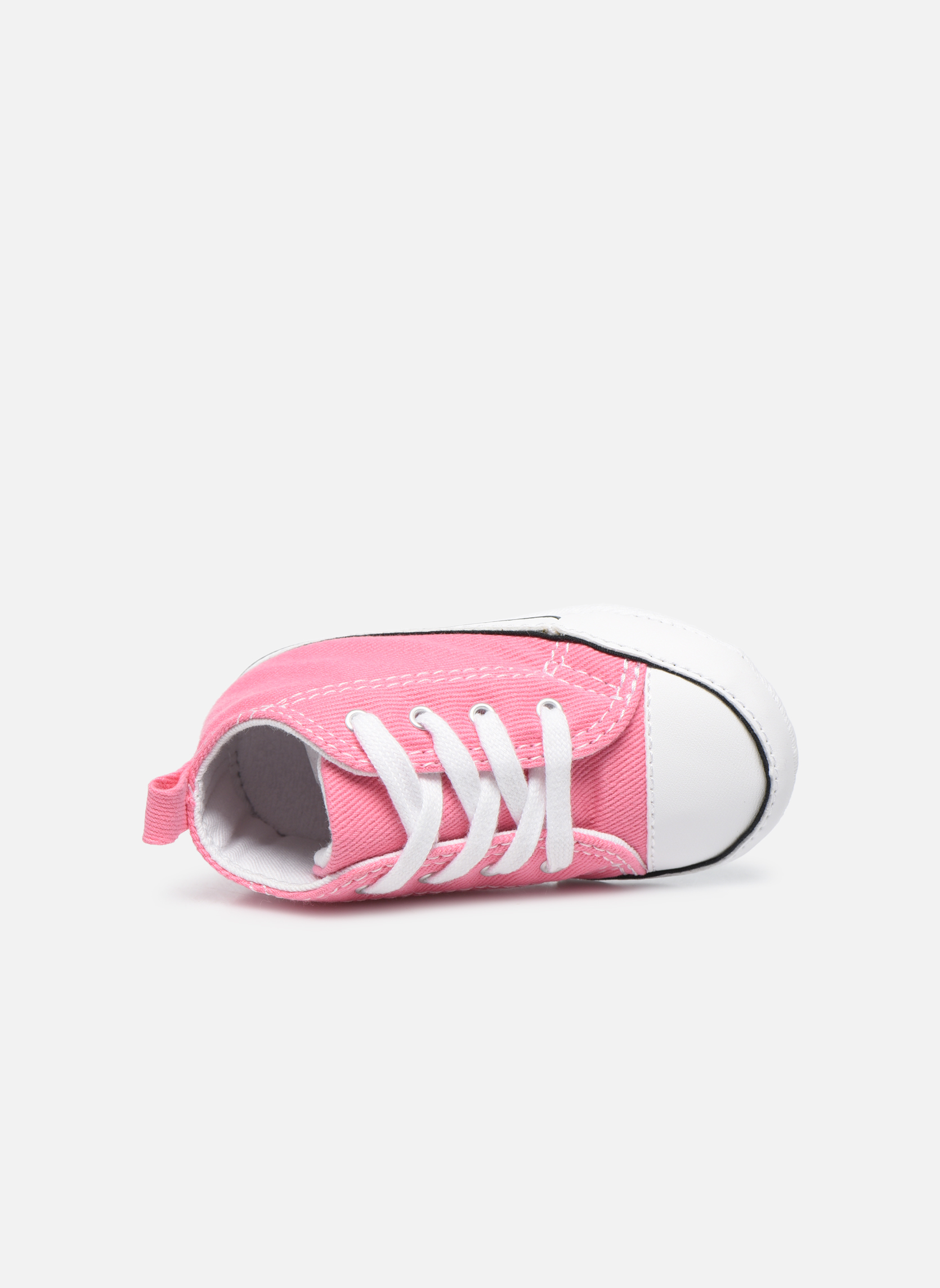 Baskets Converse First Star Cvs Rose vue gauche
