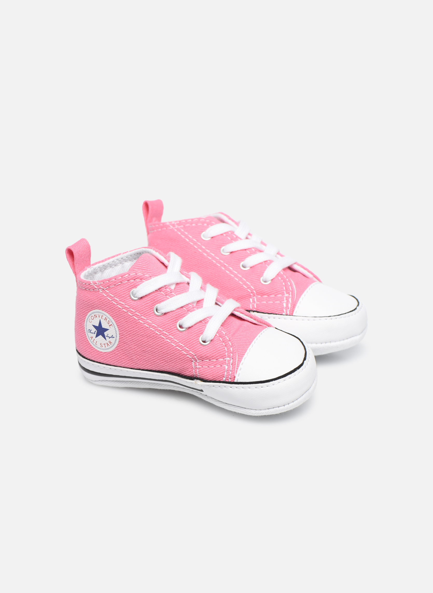 Baskets Converse First Star Cvs Rose vue détail/paire