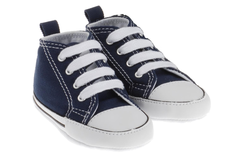 Baskets Converse First Star Cvs Bleu vue bas / vue portée sac