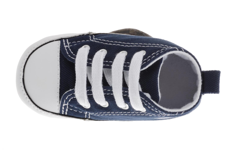 Baskets Converse First Star Cvs Bleu vue gauche