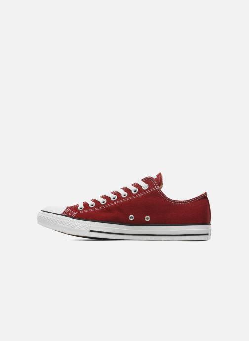 Sneaker Converse Chuck Taylor All Star Ox M weinrot ansicht von vorne