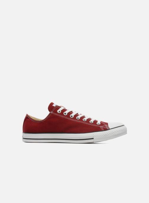 Sneaker Converse Chuck Taylor All Star Ox M weinrot ansicht von hinten