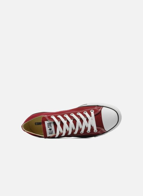 Baskets Converse Chuck Taylor All Star Ox M Bordeaux vue gauche