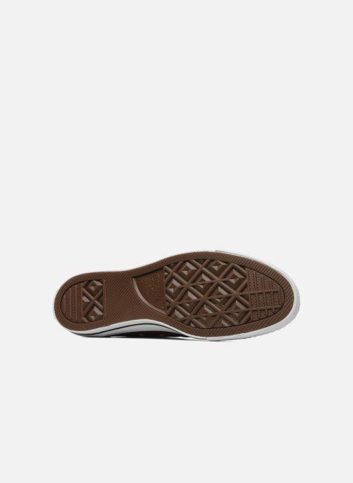 Sneaker Converse Chuck Taylor All Star Ox M weinrot ansicht von oben