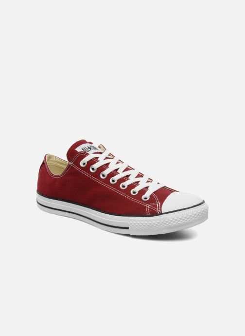 Trainers Converse Chuck Taylor All Star Ox M Burgundy detailed view/ Pair view