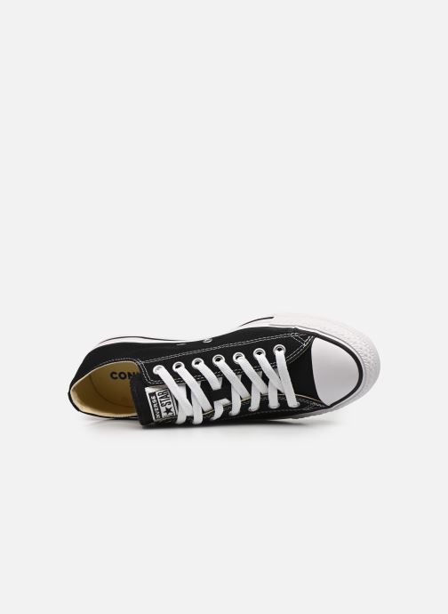 Trainers Converse Chuck Taylor All Star Ox M Black view from the left