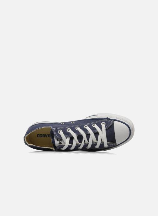 Sneaker Converse Chuck Taylor All Star Ox M blau ansicht von links