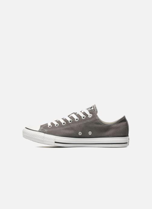 Sneaker Converse Chuck Taylor All Star Ox M grau ansicht von vorne