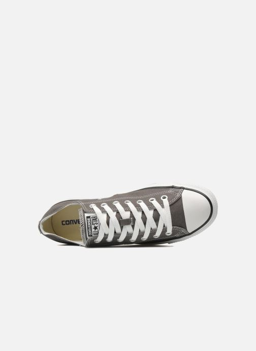 Sneaker Converse Chuck Taylor All Star Ox M grau ansicht von links