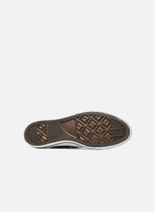 Sneaker Converse Chuck Taylor All Star Ox M grau ansicht von oben
