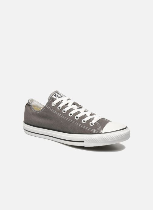 Trainers Converse Chuck Taylor All Star Ox M Grey detailed view/ Pair view