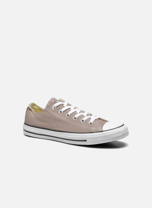 Baskets Converse Chuck Taylor All Star Ox M Beige vue détail/paire