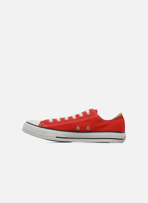 Baskets Converse Chuck Taylor All Star Ox M Rouge vue face