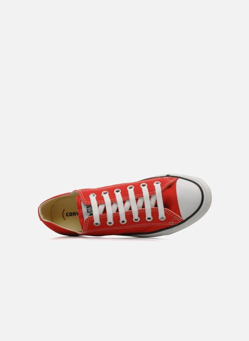 Sneakers Converse Chuck Taylor All Star Ox M Rosso immagine sinistra